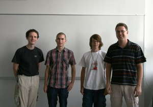 Netriders 2012 (D. Obean, T. Gruden, F. tirn, T. Stegel)