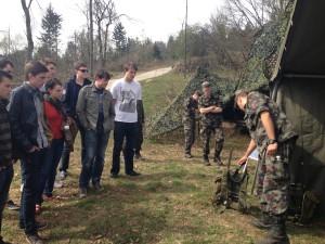 Telekomunikacije v vojski